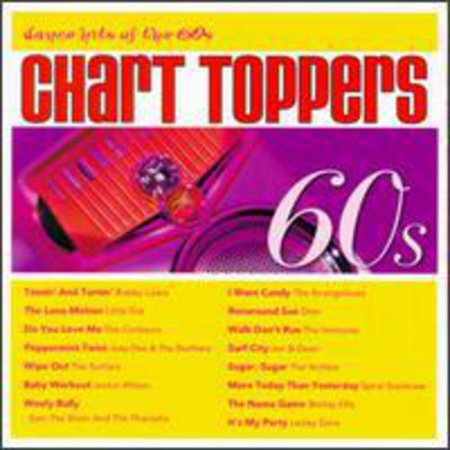 Chart Toppers: Dance Hits Of The 60's (CD) - The 60's Clothing