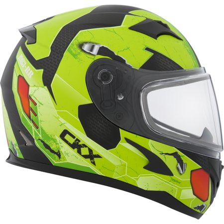Double Helmet - CKX Cosmos RR610Y Full-Face Helmet, Winter - Youth Double Shield