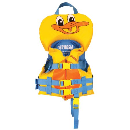 Airhead Duckie Infant Vest, Yellow