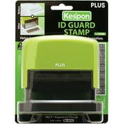 "Kes'pon Large ID Guard Stamp 2.75""X1""-Green"