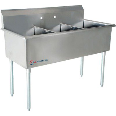 1 Compartment Commercial Kitchen Sink Stainless Steel ...