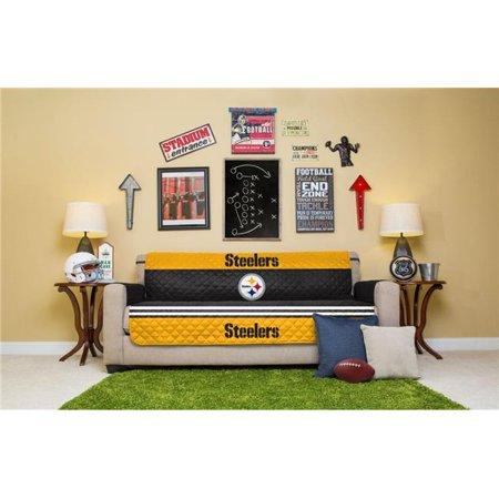 Pegasus Sports NFLFP-STEEL-4S NFL Pittsburgh Steelers Furniture Protector