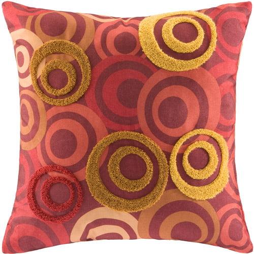 Hometrends Circles Decorative Pillow