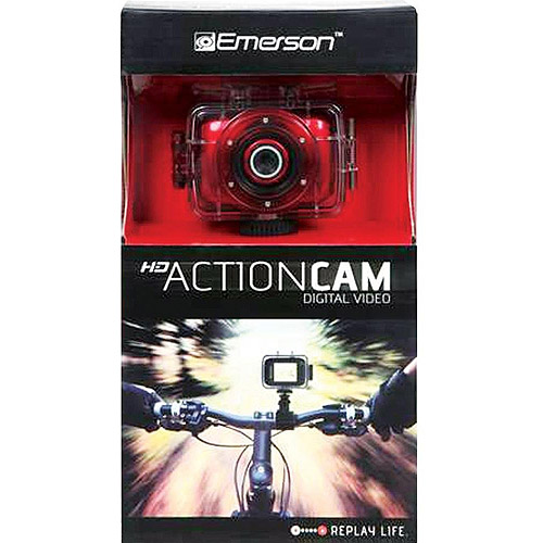 EMERSON ACTION CAM RED