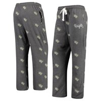 UCF Knights Women's Lounge Allover Logo Print Pants - Black