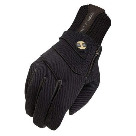 Heritage Gloves Extreme Winter Gloves, Size 6, Black, Waterproof breathable liner. Four barriers of protection and a warmWalmartfortable fit keep the cold,.., By Heritage Performance