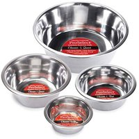 Dog Dish Stainless Steel Dining Bowls For Dogs Gloss Finish Choose From 6 Sizes