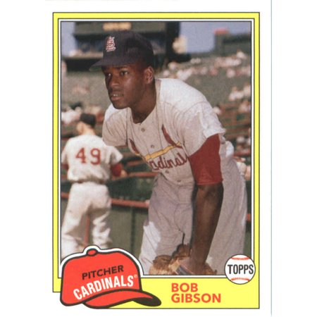 2018 Topps Archives #204 Bob Gibson St. Louis Cardinals Baseball Card