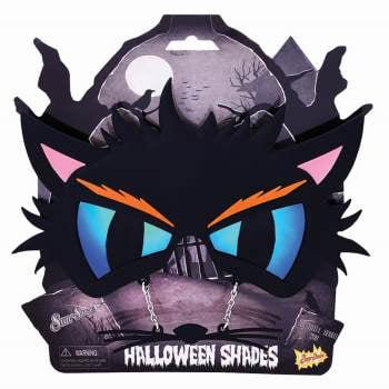 MIDNIGHT CAT SUNSTACHES - Halloween Cat Nails Tutorial