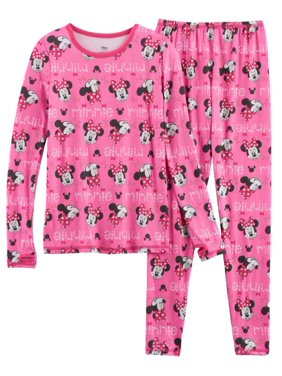978db31152d2 Product Image Cuddl Duds Chill Chasers Girls Pink Minnie Mouse Thermal  Underwear Base Layer