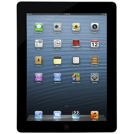 Apple iPad 4 (Refurbished) 16GB Wi-Fi - Black