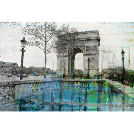 Parvez Taj George V Art Print on Premium Canvas