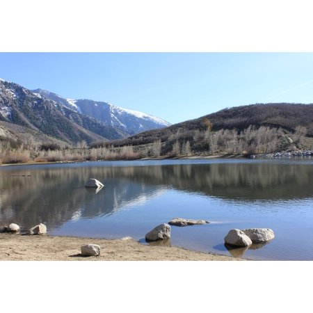 LAMINATED POSTER Bell Canyon Reservoir Sandy Bells Canyon Utah Poster Print 24 x 36 ()