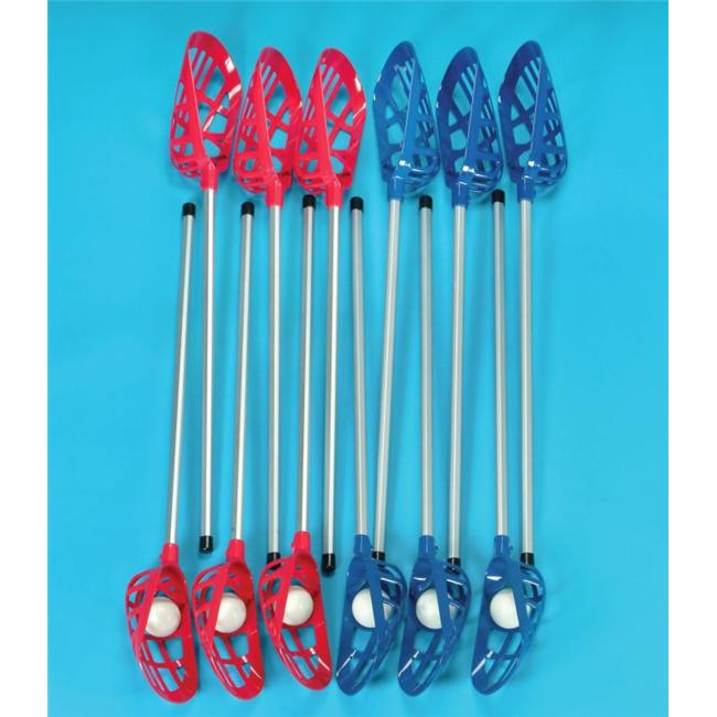 Sportime 17956 Soft Lacrosse Set for Physical Education