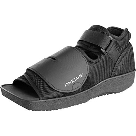 ProCare Squared Toe Post-Op Shoe, X-Small (Shoe Size: Men's 3 - 5 / Women's 4 - 6)