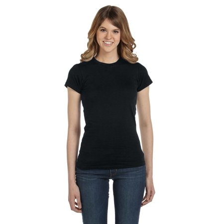 A Product of Anvil Ladies' Lightweight Fitted T-Shirt - BLACK - XL [Saving and Discount on bulk, Code Christo]