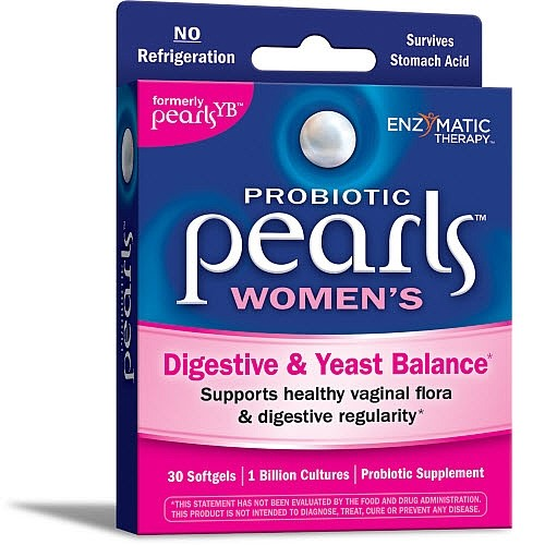 Enzymatic Therapy Probiotic Pearls Women's Capsules, 30 Ct