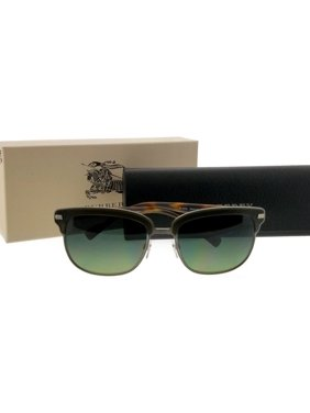 deb7394ee Product Image Burberry BE4232-3620T4-56 Square Men's Grey Frame Green Len  Polarized Sunglasses