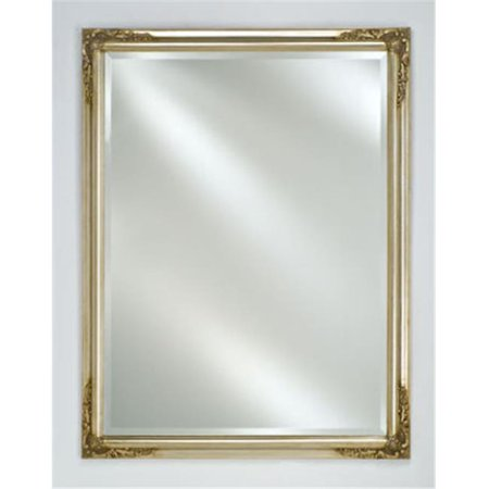 Afina Corporation EC13-2430-SV 24 in.x 30 in.Estate Distinctive Framed Wall Mirror - Antique Silver (Framed Mirror 24x30)