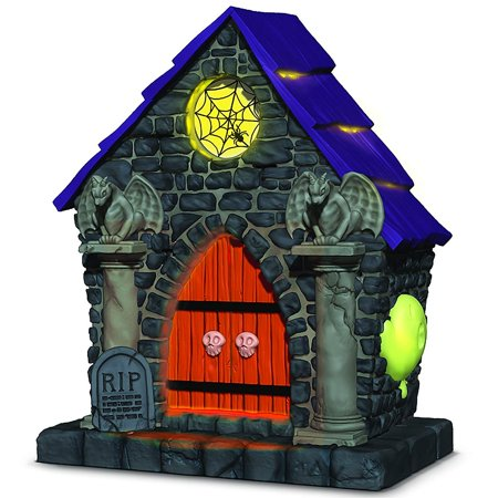 Hallmark Keepsake 2018 Ghostly Mausoleum Musical Halloween Ornament With Light