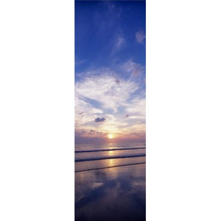 Posterazzi DPI1812651 Sunsets Over The Beach Magheraroarty Co Donegal Ireland Poster Print by The Irish Image Collection, 12 x 37 - image 1 of 1