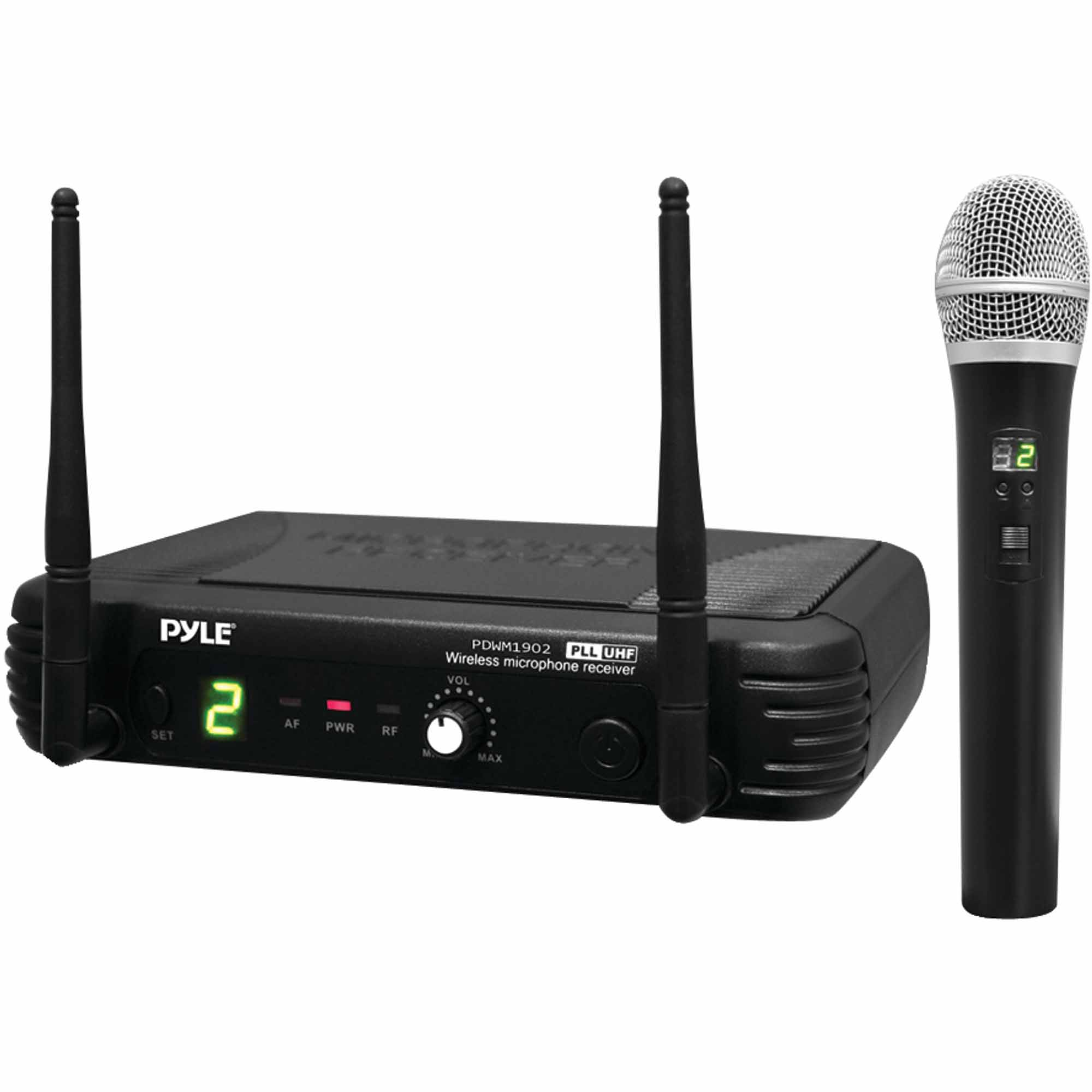 Pyle Pro PDWM1902 Premier Series Professional UHF Wireless Handheld Microphone System with... by Pyle Pro
