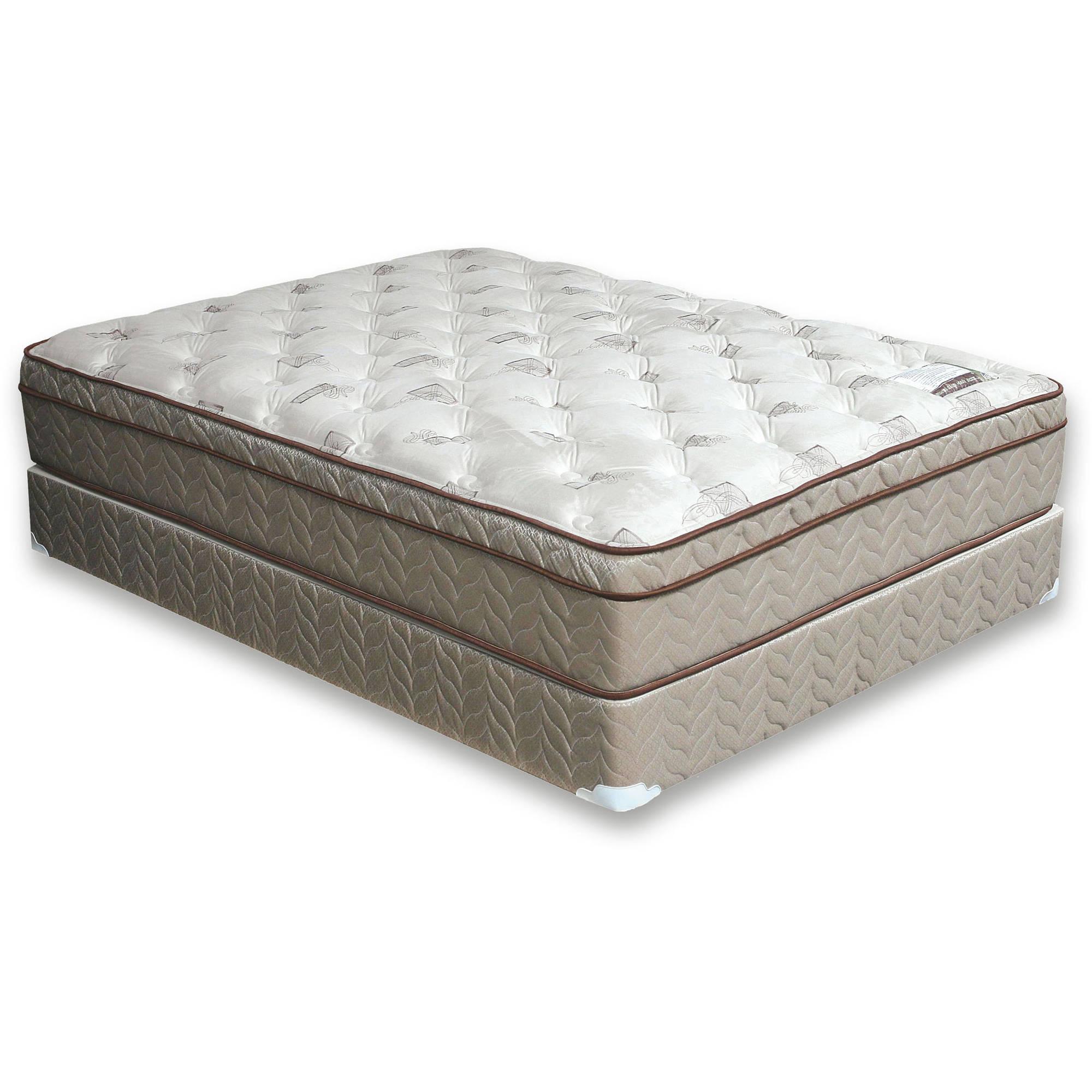miBasics Trinity Euro Pillow-Top Mattress, Multiple Sizes