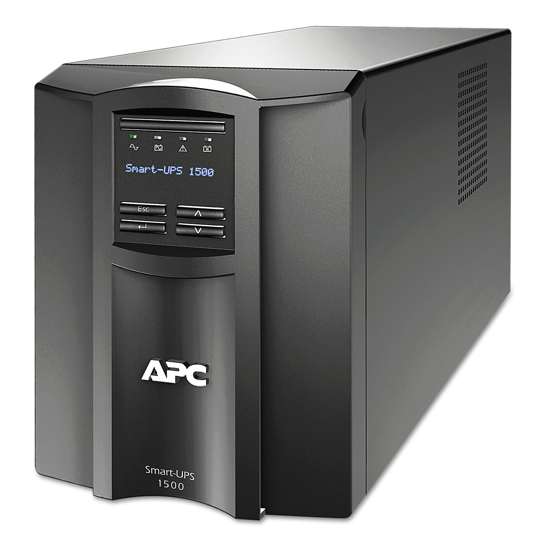 APC SMT1500 Smart-UPS LCD Backup System, 8 Outlets, 1500 VA, 459 J by APC