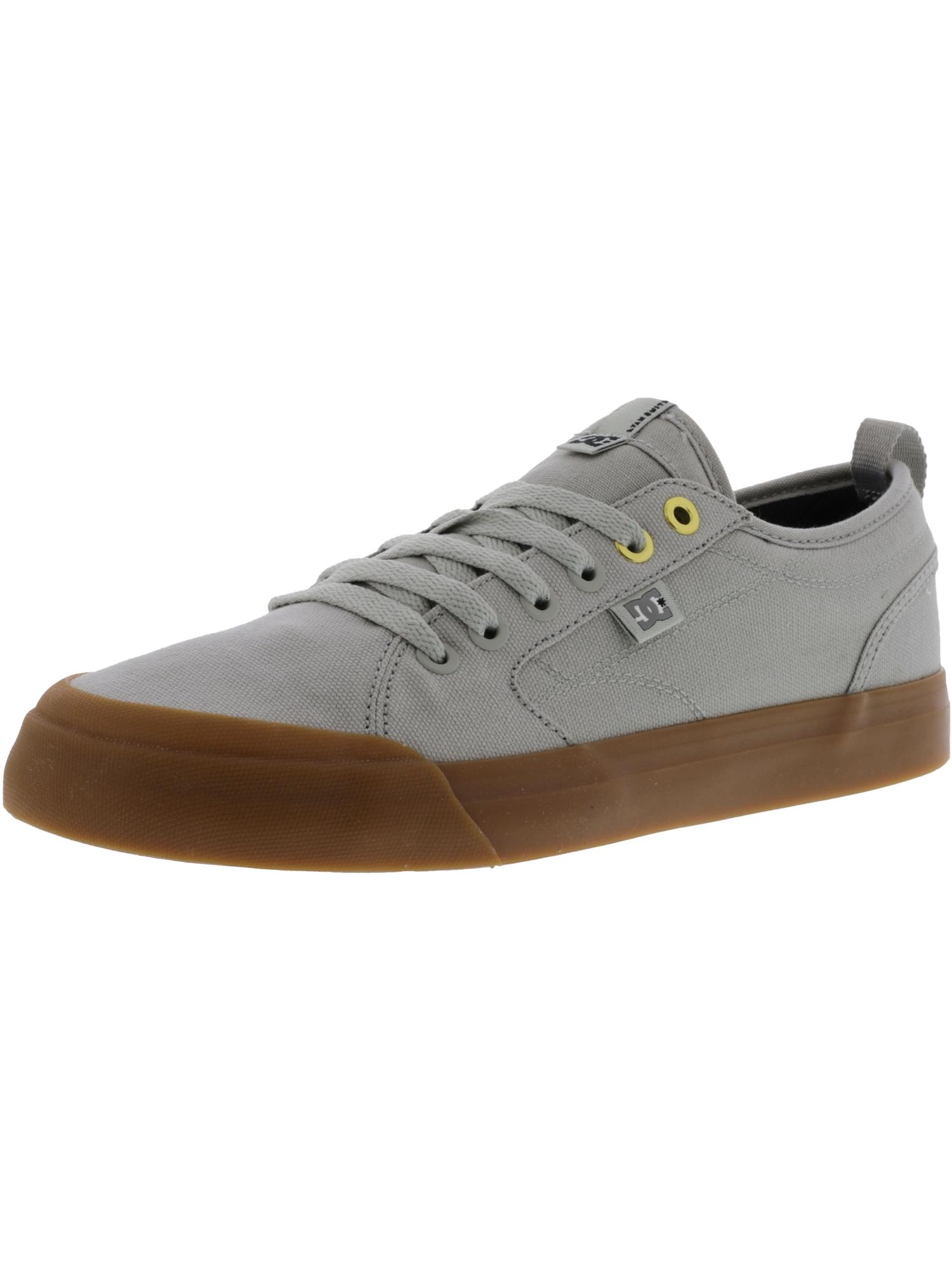 Dc Men's Evan Smith Tx Black / White Ankle-High Canvas Skateboarding Shoe - 12M