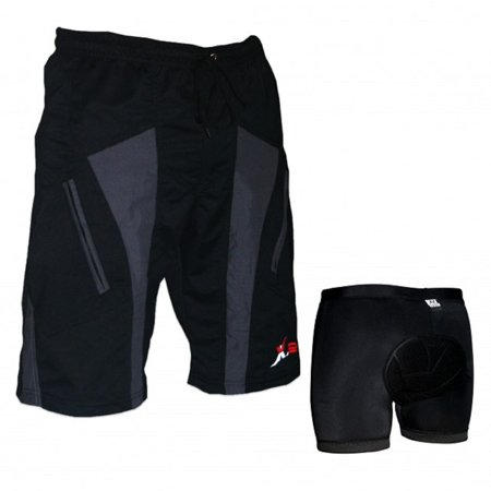 Mens Cycling Shorts | Bike padded Shorts | Cycling Shorts | Padded Cycling Shorts | Loose Fit Shorts on (Wool Cycling Shorts)