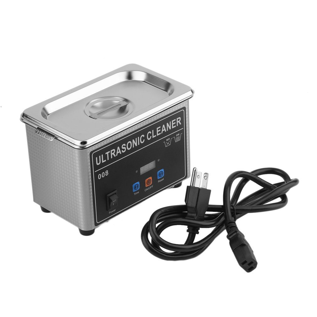Professional Ultrasonic Cleaner With D Igital Timerheater For 110v Mini Jewelry Glasses Circuit Board Watch Cd Cleaning Dentures Small Parts Dental Instrument
