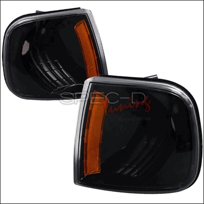 Corner Lights for 97 to 03 Ford F150, Black - 10 x 10 x 12 in.