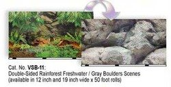 """Double Sided Rain Fresh Aquarium Background 12"""" X 50"""" (Pack of 1) by"""