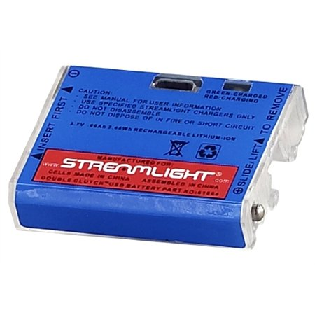(Streamlight Double Clutch USB Lithium Polymer Battery 61604)