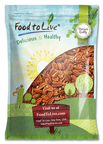 Food To Live Pecans (Raw, No Shell) (14 Pounds) by Food To Live