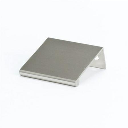 """Berenson 1052-4bpn 1-3/4"""" (45mm) Longctr Pull Finger Bravo Brushed Nickel"""