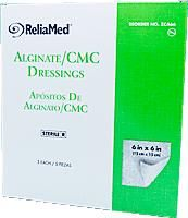 Alginate/CMC Dressing ''6 x 6 , 5 Count''