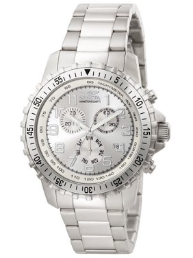 Invicta Men's Specialty Steel Bracelet & Case Quartz Silver-Tone Dial Analog Watch 6620