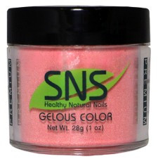 SNS Nail Gelous Colors #301 - #365 Dipping Powder NO U/V NO SMELL (Beat of My Heart #345)