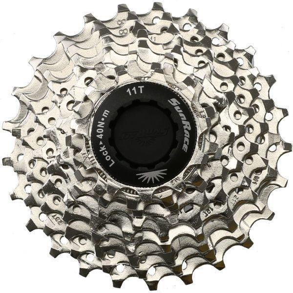 9 Speed Sunrace Road Bike Cassette (Shimano or Sram) 11-25