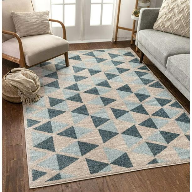 Traditional Geometric Hand woven wool kilim 761X583