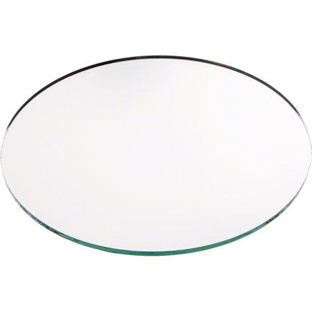 No Bevel Glass Mirror, Round 3mm- 6