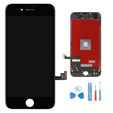 iPhone 8 Screen Replacement - Black - LCD Premium Complete Repair Kit with