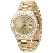 Best Rolex Watches - Mens Diamond Rolex Day-Date President 18k Yellow Gold Review