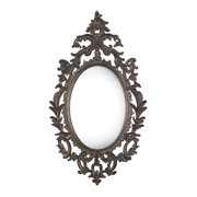 Berkeley Mirror in Fawnfield Distressed Bronze Finish