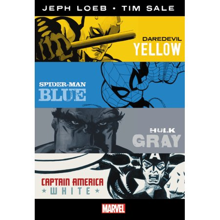 MARVEL KNIGHTS:  Jeph Loeb & Tim Sale: Yellow, Blue, Gray & White Omnibus - Batman The Long Halloween Jeph Loeb