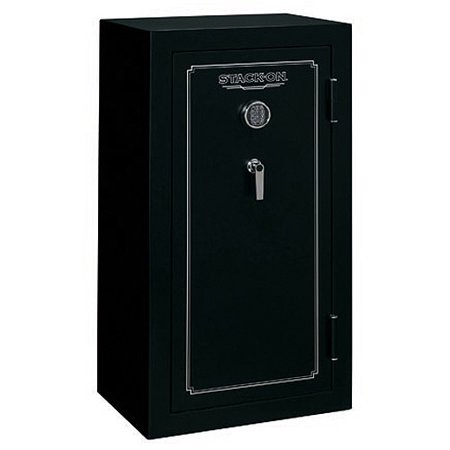 Stack-On 24 Gun Fire Resistant Security Safe with Electronic Lock FS-24-MB-E Matte Black