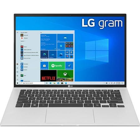 """LG gram 14"""" Intel i7-1165G7 8GB/512GB SSD Iris XE Laptop 14Z90P-K.AAS7U1"""