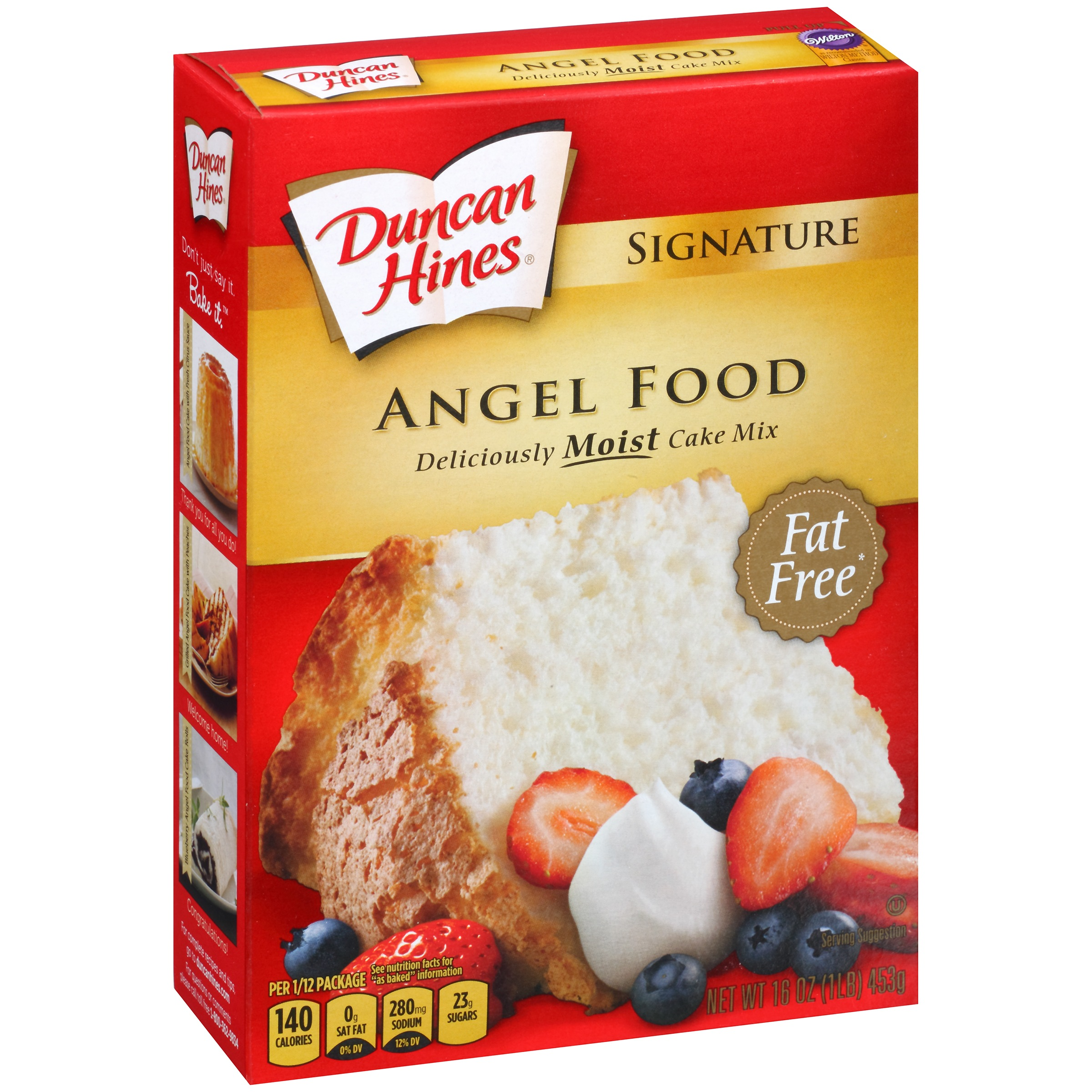 Duncan Hines Signature Cake Mix Angel Food 16.0 oz