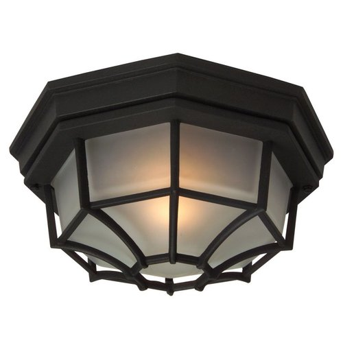 Cast Aluminum Flush Outdoor Close to Ceiling Light